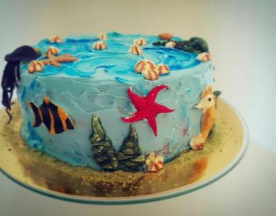 Tort urodzinowy raczki